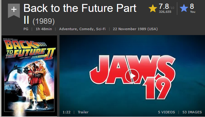 Back To The Future Part Ii 1989 Cinemindframe